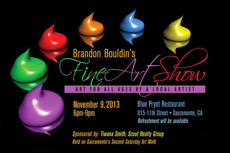Brandon Bouldin - November 9th Show at Blue Prynt