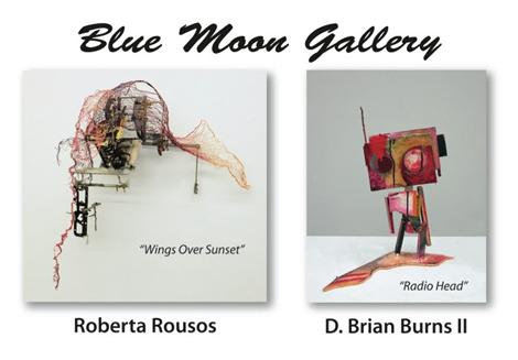 Blue Moon Gallery Flier