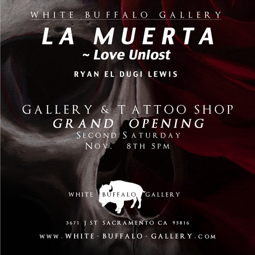 White Buffalo Gallery Flier