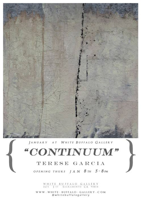 Continuum at White Buffalo Gallery Flyer