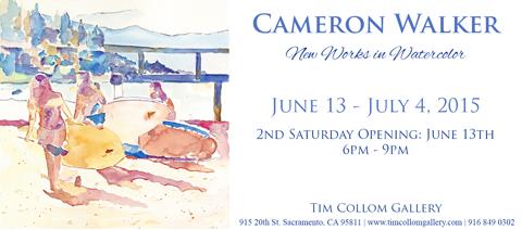 Tim Collom Gallery June 2015 Flier