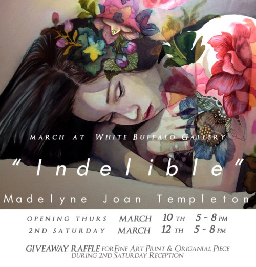 Indelible at White Buffalo Gallery in March 2016