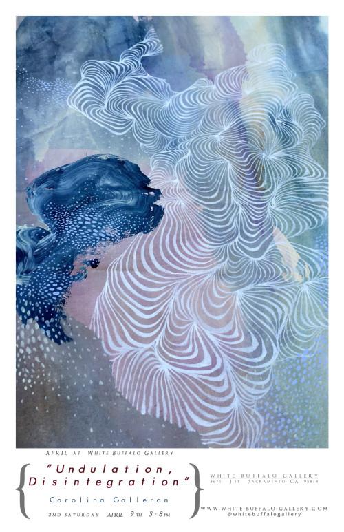 Undulation, Disintegration at White Buffalo Gallery in April 2016