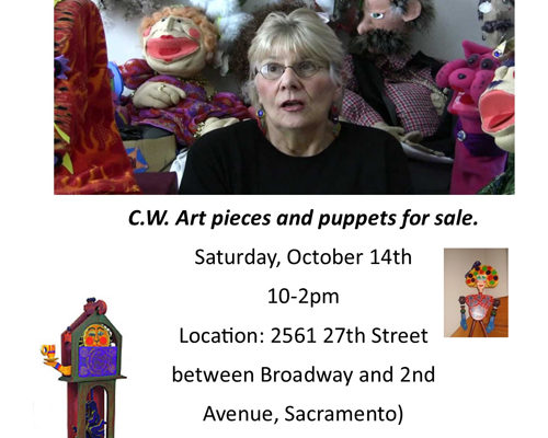 Puppets for Sale October 2017