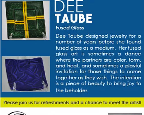 Artist Dee Taube at Artists' Collaborative