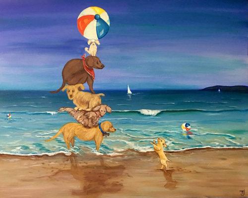 Dog Pile by TJ Lev