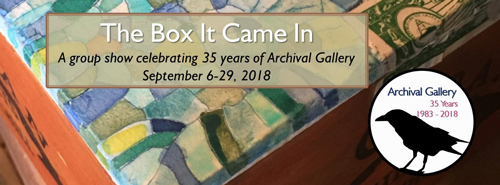 Archival Gallery September 2018 Flyer