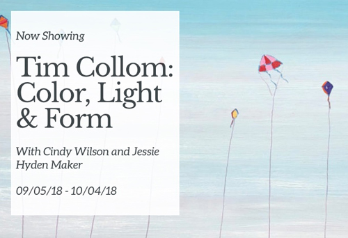 Color, Light, & Form at Tim Collom Gallery in September 2018