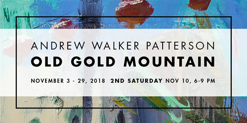 Old Gold Mountain at Elliott Fouts Gallery in November 2018
