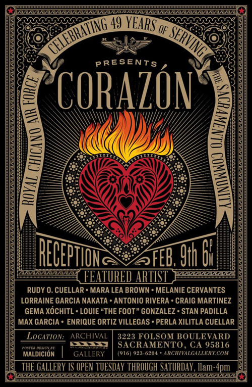 Corazon at Archival Gallery in February 2019