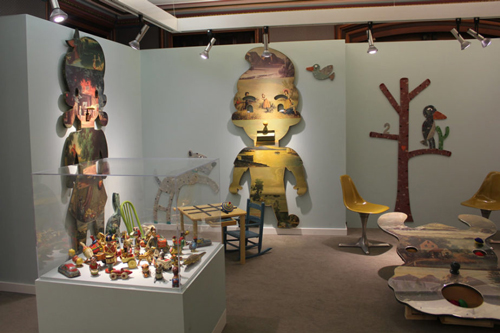 Kit n' Kaboodle at JayJay Gallery in March 2019