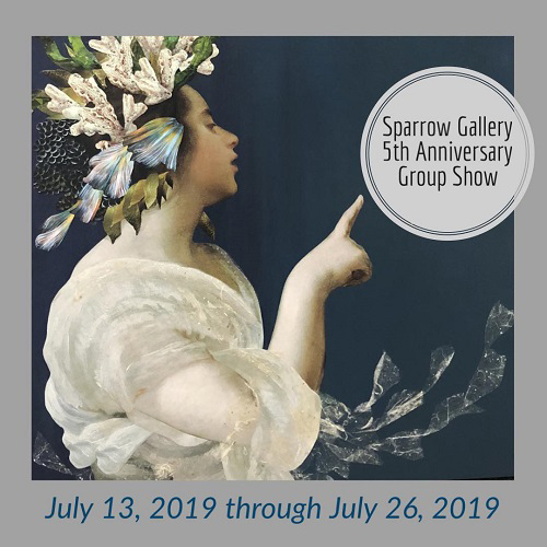 5th Annual Exhibition at Sparrow Gallery in July 2019