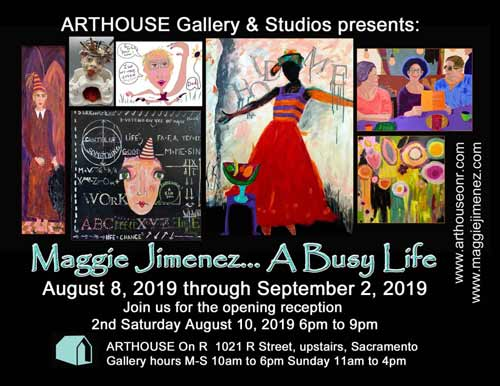 A Busy Life at Arthouse on R in August 2019