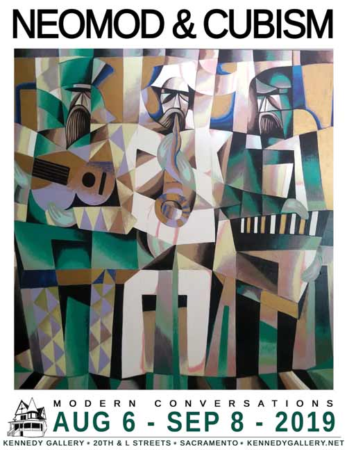 Neomod & Cubism at Kennedy Gallery in August 2019