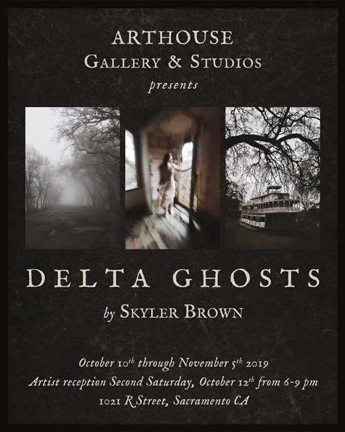 Delta Ghosts at Arthouse on R in October 2019