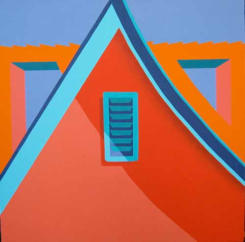 Angles and Eaves at Fe Gallery