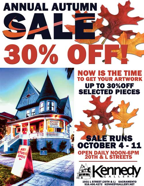 Autumn Sale at Kennedy Gallery in October 2019
