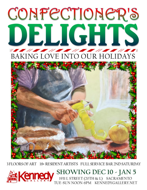 Confectioner's Delights at Kennedy Gallery in December 2019