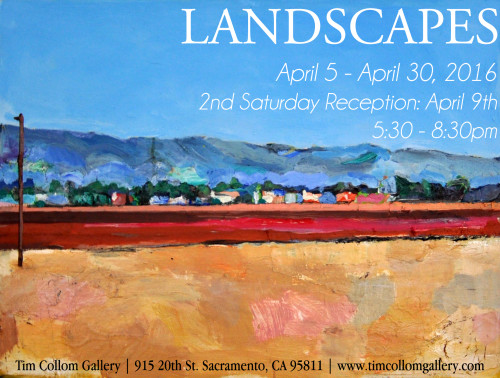 1st Annual Landscapes at Tim Collom Gallery in April 2016