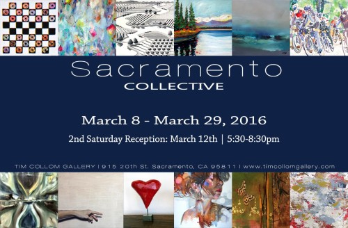 Sacramento Collective at Tim Collom Gallery in March 2016