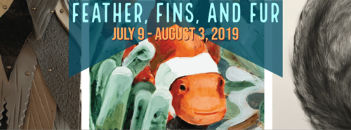 Feather, Fins, and Fur at Archival Gallery in July 2019
