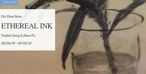 Ethereal Ink at Tim Collom Gallery in August 2019